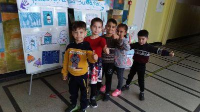 Зимни занимавки за сръчни ръчички и весели очички! Сътворено от децата на нашите подготвителни групи - ОУ Доктор Петър Берон - Ямбол